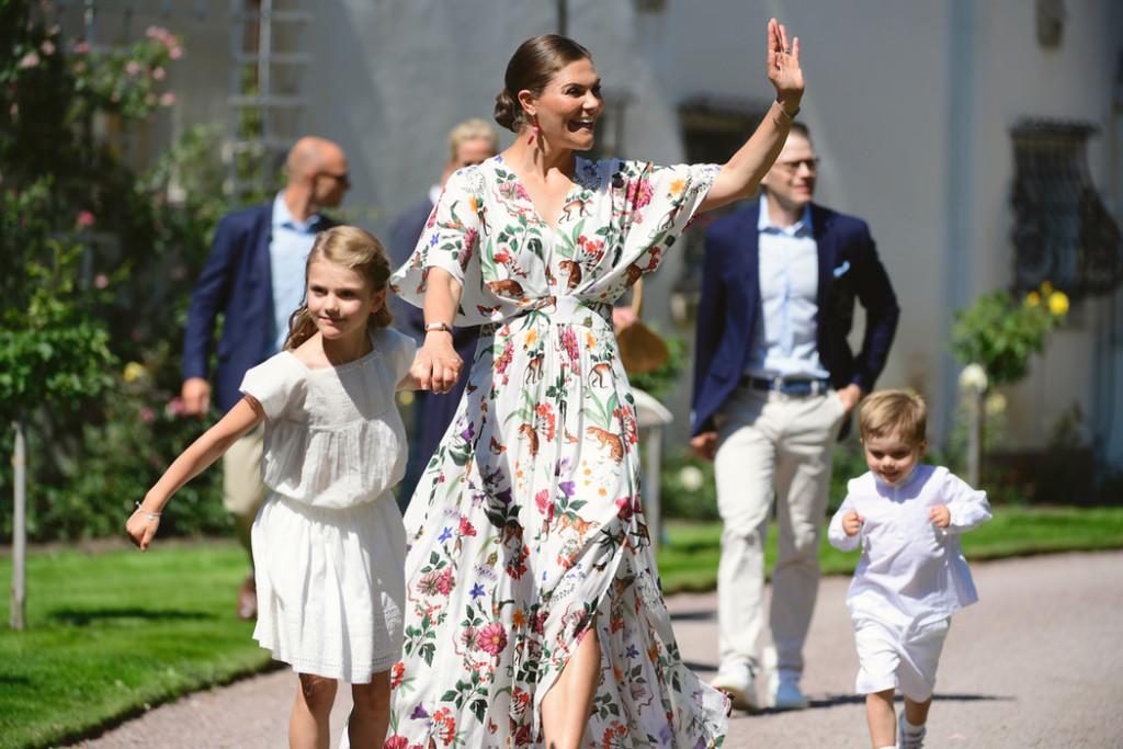 Namnen på alla barn i det svenska kungahuset.