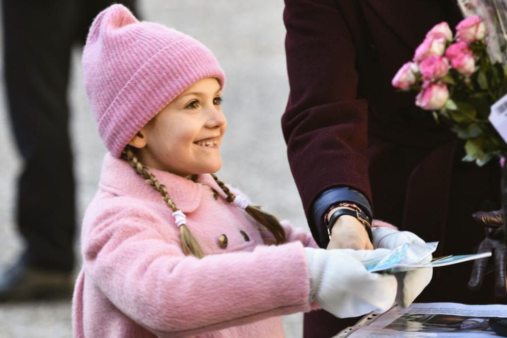 Prinsessan Estelle och namnen på alla barn i kungafamiljen.